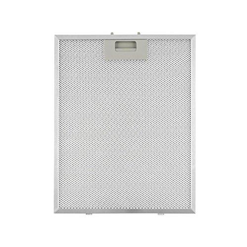 Klarstein Aluminium-Fettfilter Austauschfilter für Dunstabzugshauben (28 x 35 cm, Klickverschluss, Aluminium) silber