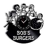 Bob's Burgers Vinyl Record Clock 12