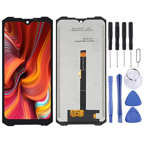 GGAOXINGGAO Pieza de Repuesto de reemplazo de teléfono móvil Montaje Completo de Pantalla LCD y digitalizador para Doogee S96 Pro Accesorios telefónicos