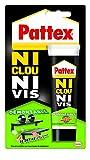 Pattex Tube de Colle'Ni clou ni vis' Démontable - 100 g - Blanc