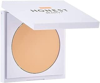 Honest Beauty Everything Cream Foundation, Bisque | Demi-Matte, Lightweight, Medium-to-Full Coverage | Talc Free, Dermatologist Tested, Cruelty Free | 0.31 oz.