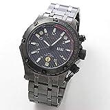 [エムティーエム]MTM VULTURE(ヴァルチャー) ブラック チタン 腕時計 VUL-TBK-BKCB-MBTI [正規輸入品]