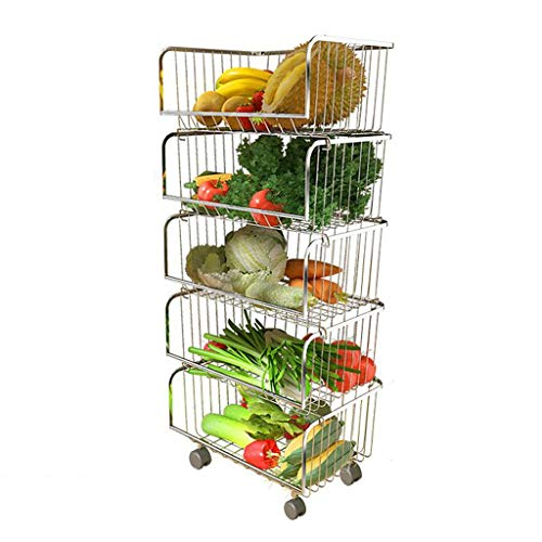 Purchase Fruit and Vegetable Rack Storage Pot And Bowl Storing Books Bearing Weight 160KG Multi-laye...