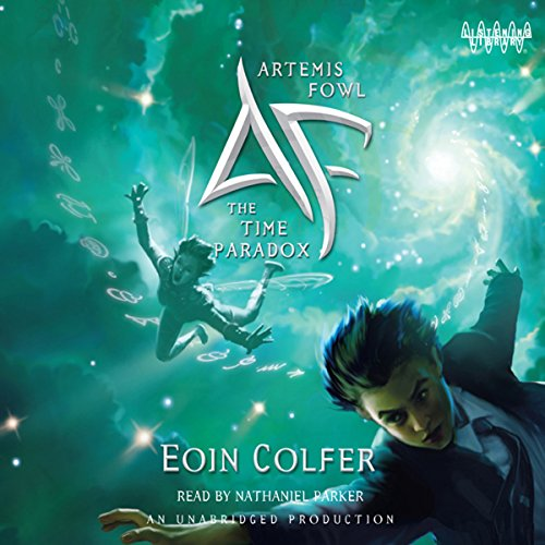 The Time Paradox Audiobook By Eoin Colfer cover art