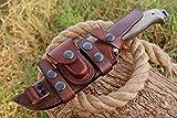 Best Bushcraft Knives - Damascus Bushcraft Knife - Hunting Knife - Handmade Review