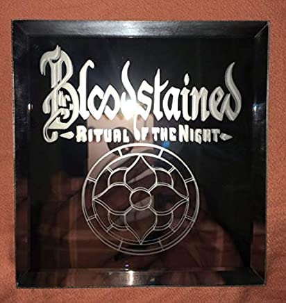 Bloodstained Ritual Of The Night Logo Mirror