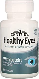 21st Century Healthy Eyes with Lutein - 60 Tablets