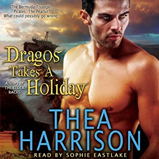 Dragos Takes a Holiday     A Novella of the Elder Races              By:                                                                                                                                 Thea Harrison                               Narrated by:                                                                                                                                 Sophie Eastlake                      Length: 3 hrs and 14 mins     708 ratings     Overall 4.6