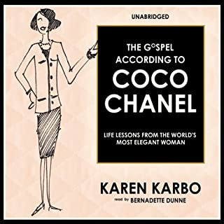 The Gospel According to Coco Chanel audiobook cover art