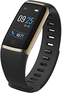 JSGJSH 2018 New Smart Bracelet IP68 Waterproof Sport Fitness Bracelet Tracker Smart Band Smart Wristband Heart Rate Monitor Bluetooth for Android iOS