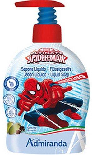 Spiderman vloeibare zeep voor de handen, verpakking van 2 stuks (2 x 1 stuks)