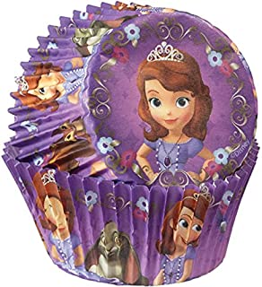 Wilton 415-2822 50 Count Sofia The First Baking Cups