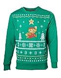 Nintendo: Christmas (Maglione Unisex Tg. L)