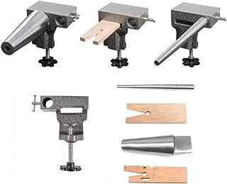 SFC Tools Bench Anvil Combo Kit - Round Bracelet and Ring Mandrels, Anvil, V Slot Bench Pin 13-134