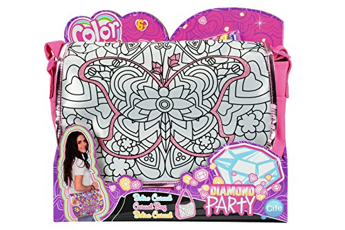 Simba 106372206 - Color Me Mine Diamond Party Courier 34 x 27 cm