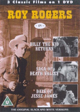 Roy Rogers - Billy The Kid Returns / Saga Of Death Valley / Days Of Jesse James [1938] [DVD] [UK Import]