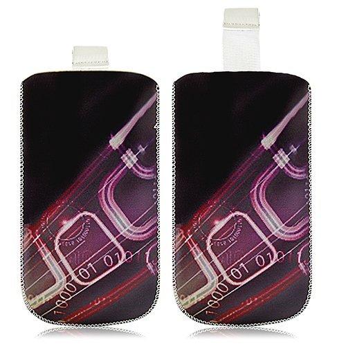 Seluxion Schutzhülle Tasche Universal mit S HF07 für Oppo Joy Plus