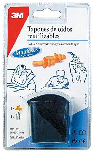 3M RT000937990 Tapones reutilizables para deportes acuáticos