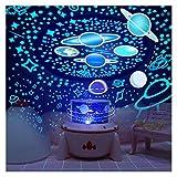 Lámpara De Proyector De Luz Nocturna, Proyector De Luz Estrellada para Niños, Iluminación Romántica Giratorio De 360 Niños Y Niñas De 3 A 14 Años (Color : Music)
