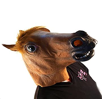 Creepy Horse Head Mask
