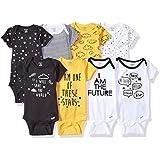 GERBER Baby Boys' 8-Pack Short-Sleeve Onesies...