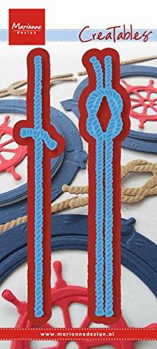Marianne Design Creatables Troqueles con diseño Cuerdas, Metal, Azul, 15.2x5.8x0.1 cm