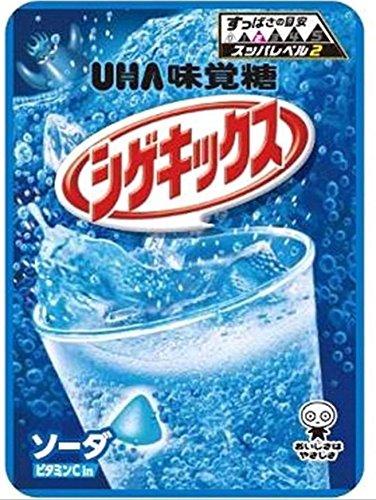 UHA味覚糖 シゲキックス ソーダ (20g×10)