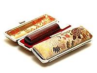 「アグニ印鑑10.5mm×60mm鶴亀ケース付き」 縦彫り 篆書体