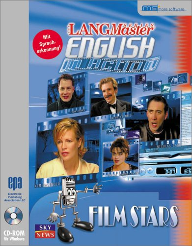 LANGmaster English in Action, CD-ROMs : Film Stars, 1 CD-ROM