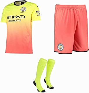 LUCKME 2019/2020 (Home & Away) Custom Football Jersey Sets for Men and Kids,Personalised Name and Number Soccer Club Jersey Kits