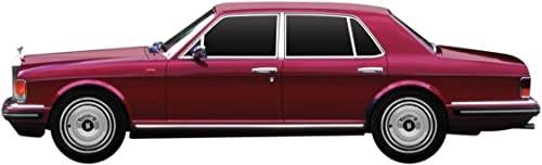 Dickie-Schuco 413311019 - True Scale - Rolls Royce Spirit-1980-1 43 Silber, Resin, Maroon