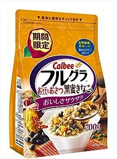 カルビー フルグラお豆とおさつ黒蜜きなこ味 700g