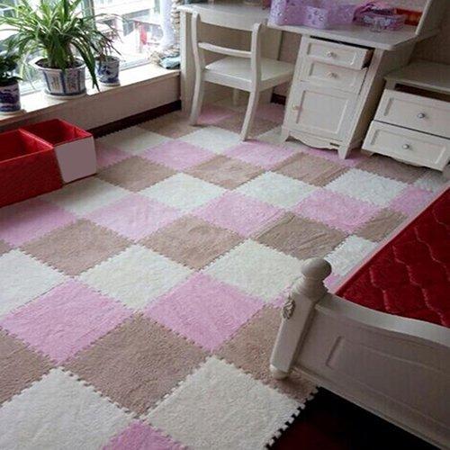 XdiseD9Xsmao 1 Pc Doux Durable Puzzle Tapis De Sol Tuile Bébé Enfants Enfants Maison Tapis en Plein Air Décor pour Play Room Chambre Chameau
