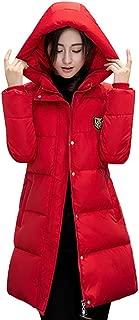 kaifongfu Women Down Overcoat, Solid Casual Thicker Winter Slim Down Lammy Jacket Coat Overcoat
