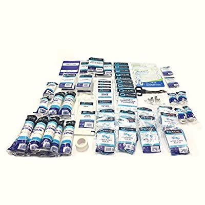 Qualicare LARGE 210 PIECE REFILL BSI BS8599 COMPLIANT PROFESSIONAL WORKPLACE ESSENTIAL FIRST AID KIT from Qualicare