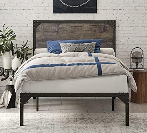 SHA CARLIN Twin Size Bed Frame