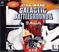 Star Wars Galactic Battlegrounds Saga (Jewel Case) (輸入版)