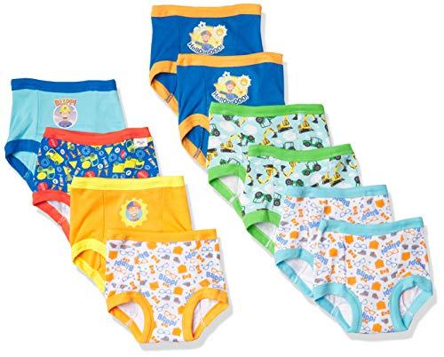 Blippi Baby Toddler Boy Potty Training Pant Multipacks, Tb 10pk, 3T