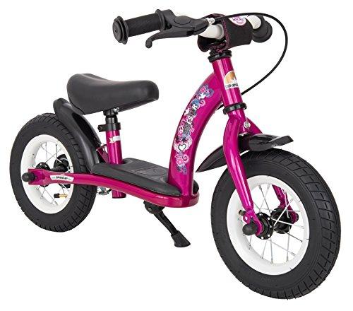 BIKESTAR - Bicicleta de Equilibrio para Correr con Lateral y Freno para...