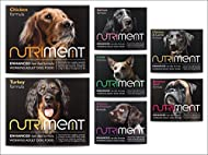 NUTRIMENT ENHANCED ADULT WORKING DOGS Raw Food (20 Tray Starter Pack) Frozen, Complete Premium BARF ...