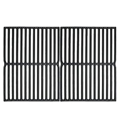 Uniflasy Cast Iron Grill Cooking Grid Grate Replacement Parts for Weber Spirit 200 Series, Spirit 500, Genesis Silver A, for Weber 7522, 2271001, 3711001, 4411001, 6711001 Grills