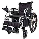 LOLRGV Aluminiumlegierung Elektro-Rollstuhl Leichtklapp Lithium Elektro Intelligent Tragbarer Scooter -