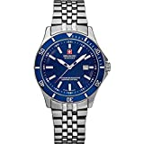 Swiss Military Hanowa Reloj Analógico para Mujer de Cuarzo con Correa en Acero Inoxidable 06-7161.2.04.003