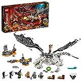 Ninjago TV Series Dragón del Brujo de los Muertos2en1Set de Construcción y Juego de Mesa con Figuras del Ejército Esqueleto, multicolor (Lego ES 71721)