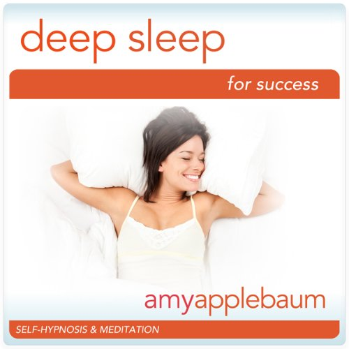 Deep Sleep for Success (Self-Hypnosis & Meditation) audiobook cover art