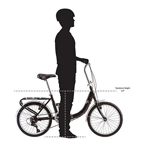 Schwinn Loop Folding Bike, 20' Wheels