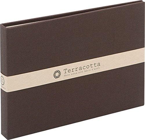 Nakabayashi cuite (Terracotta) album de poche / 2L c?t? de taille / Brown TER-2LP-85-BR (japon importation)