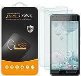 (3 Pack) Supershieldz Designed for HTC U Ultra Tempered Glass Screen Protector, Anti Scratch, Bubble Free