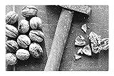 LESGAULEST Doormat Floor Rug/Mat (23.6 x 15.7 inch) - Nutcracker Hammer Nutshell Diet Health Macro