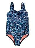 Roxy Kids Beach Bound One Piece Swimwear 2 Dress Blue Rumba Ditsy